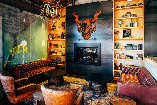 Stone Brewing Company - lounge